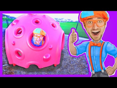 Thumbnail: Educational Videos for Preschoolers with Blippi | Outdoor Park