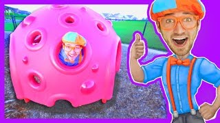 Educational Videos for Preschoolers with Blippi | Outdoor Park