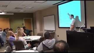 Dr. Klint Hobbs speaks about stress management, PI