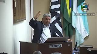 18ª Sessão Ordinária - Presidente Marcão Alves
