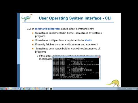 Operating Systems 2 - Operating-System Structures- PART 1