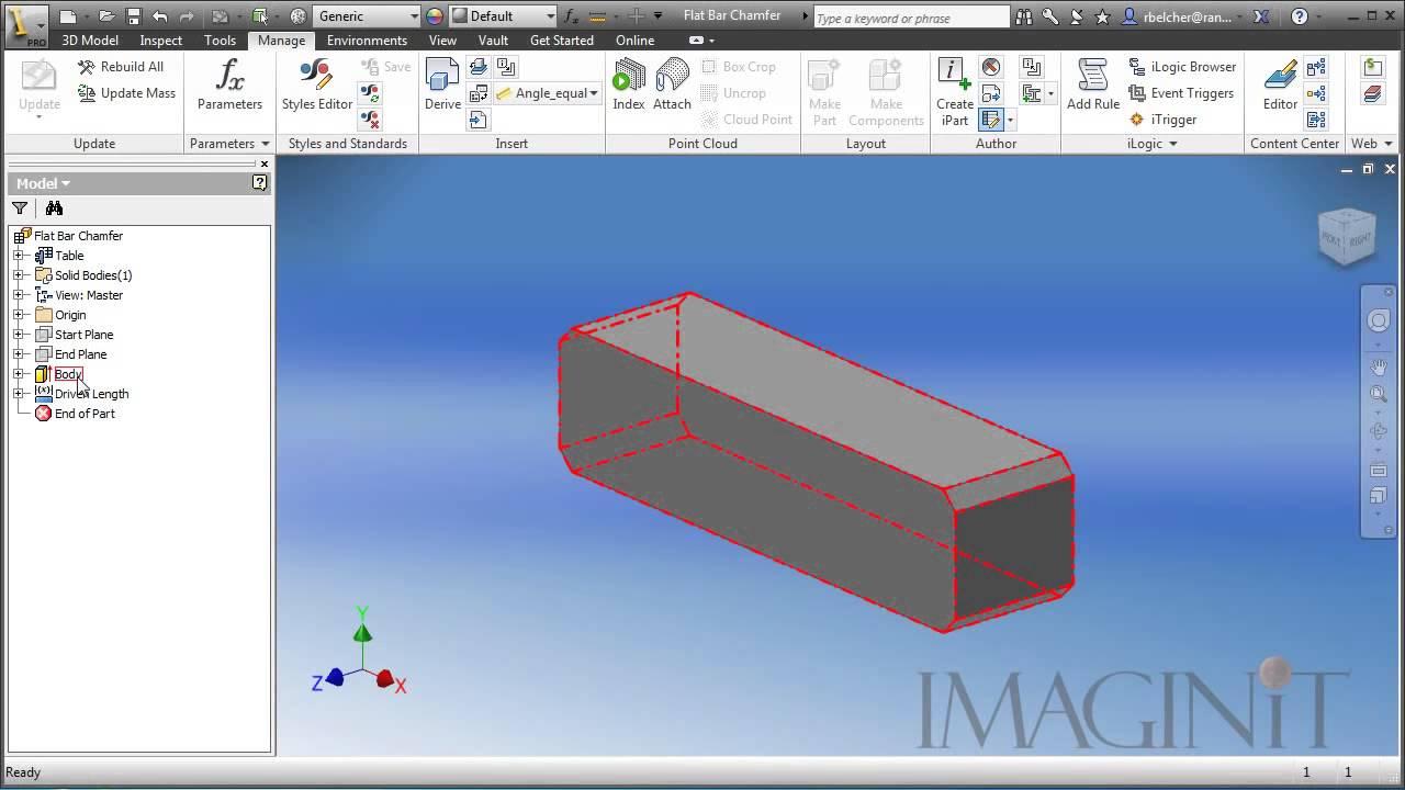 Inventor Custom Frame Members for Frame Generator - YouTube