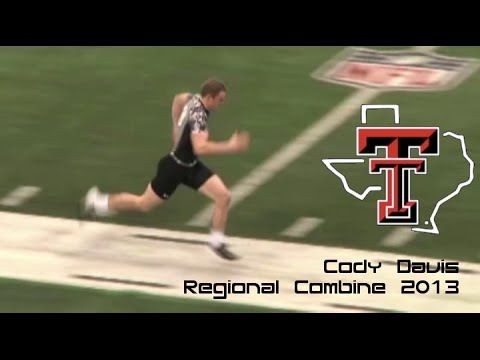 Cody Davis Texas Tech Super Regional & Regional Combine