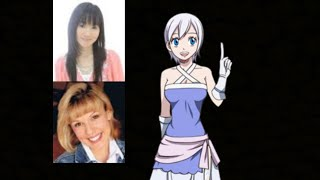 Anime Voice Comparison Lisanna Strauss Fairy Tail ~hi my name is mirajane strauss! anime voice comparison lisanna strauss