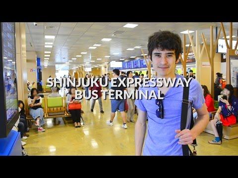 Shinjuku Expressway Bus Terminal -  How to get around | Tokyo Travel Guide
