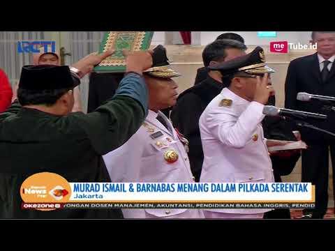 Presiden Joko Widodo Lantik Gubernur & Wakil Gubernur Maluku - SIP 25/04