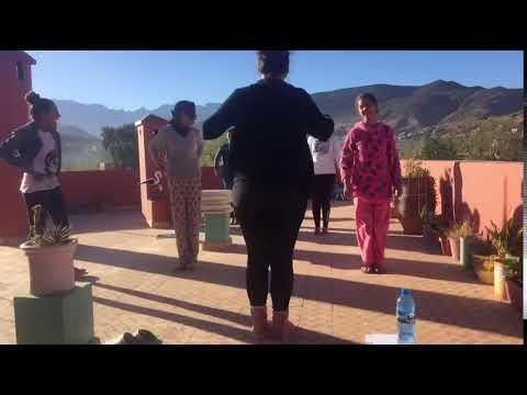 EFA Morocco Morning Yoga