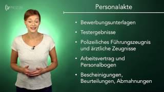 Stammdaten in der Personalakte | Wissen für die Ausbildung | Prozubi.de