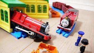 プラレール あかいロージー&ジェームス/Thomas&Friends Red Rosie&James