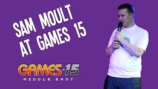 Sam Moult at Games 15