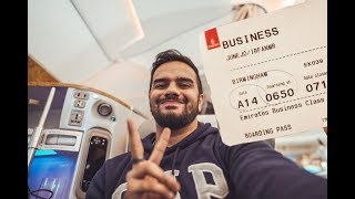EMIRATES A380 - BUSINESS CLASS REVIEW