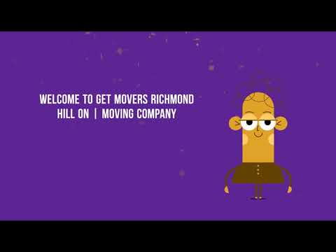 Get Movers Richmond Hill ON - Moving Company