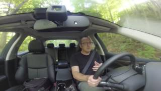 Infiniti Q50 Red Sport Driving Review