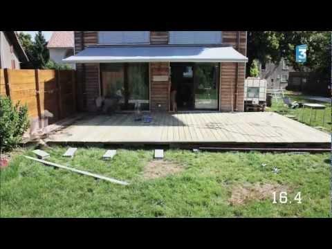 montage terrasse en bois piscine doovi. Black Bedroom Furniture Sets. Home Design Ideas