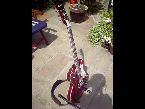 Noel Gallagher Signature Epiphone Supernova - Cherry Red (1997)