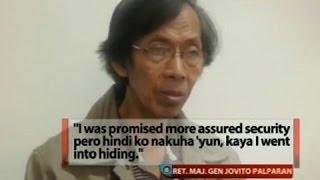 Palparan, ililipat lang sa Bulacan provincial jail kung plantsado na raw ang security detail