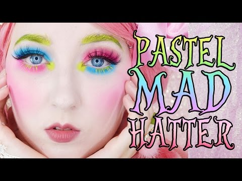 Mad Hatter Makeup Tutorial   How To Make & Do Everything!
