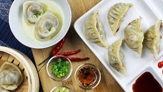 Shiitake Portobello Mushroom Dumplings | Vegan Recipe By Mary's Test Kitchen
