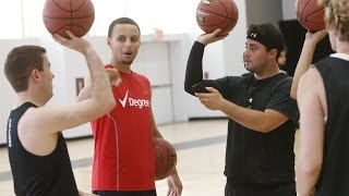 Stephen Curry Teaches BEEF Shot