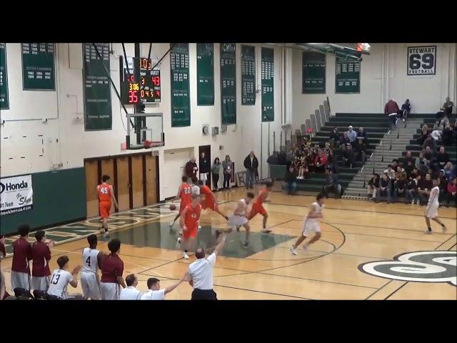 Game Highlights Boys' Varsity: Catskill 63 vs Watervliet 66 (F)
