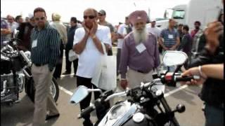 SIKH MOTORCYCLE CLUB @ apna truck SHOW