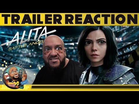 Alita: Battle Angel - Trailer #3 REACTION