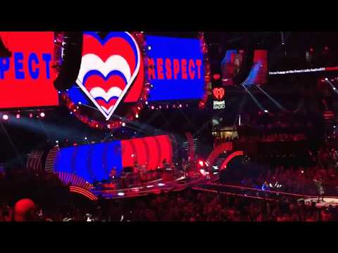 Miley Cyrus Party in the USA at iHeart Radio Festival 2017