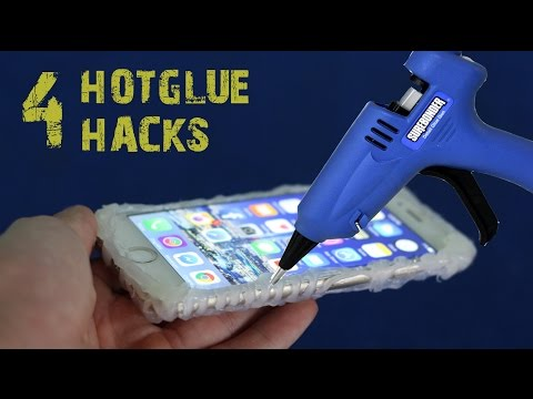 Thumbnail: 4 amazing things can be made with a hot glue gun - hot glue hacks