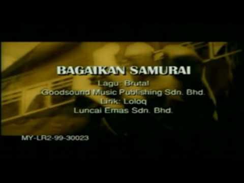 Bagaikan Samurai - XPDC (HD/Karaoke/HiFiDualAudio)
