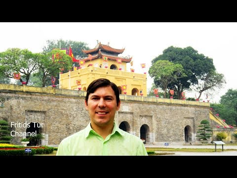 Imperial Citadel of Thang Long 2017 Travel to Hanoi Vietnam