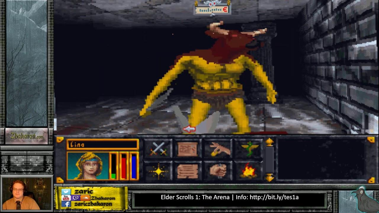 elder scrolls 1 gameplay