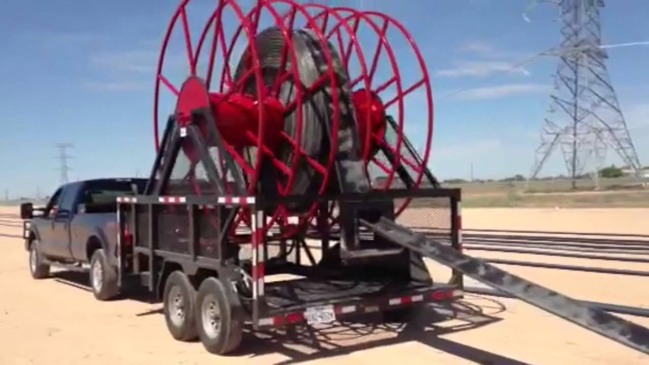 Water Transfer Oilfield Equipment ~ Tlr layflat hose and equipment youtube