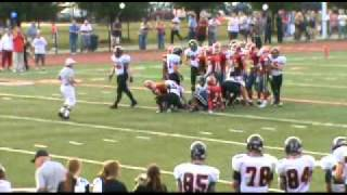 Jacob Nelmark#36 2010 Brighton High MI. Football