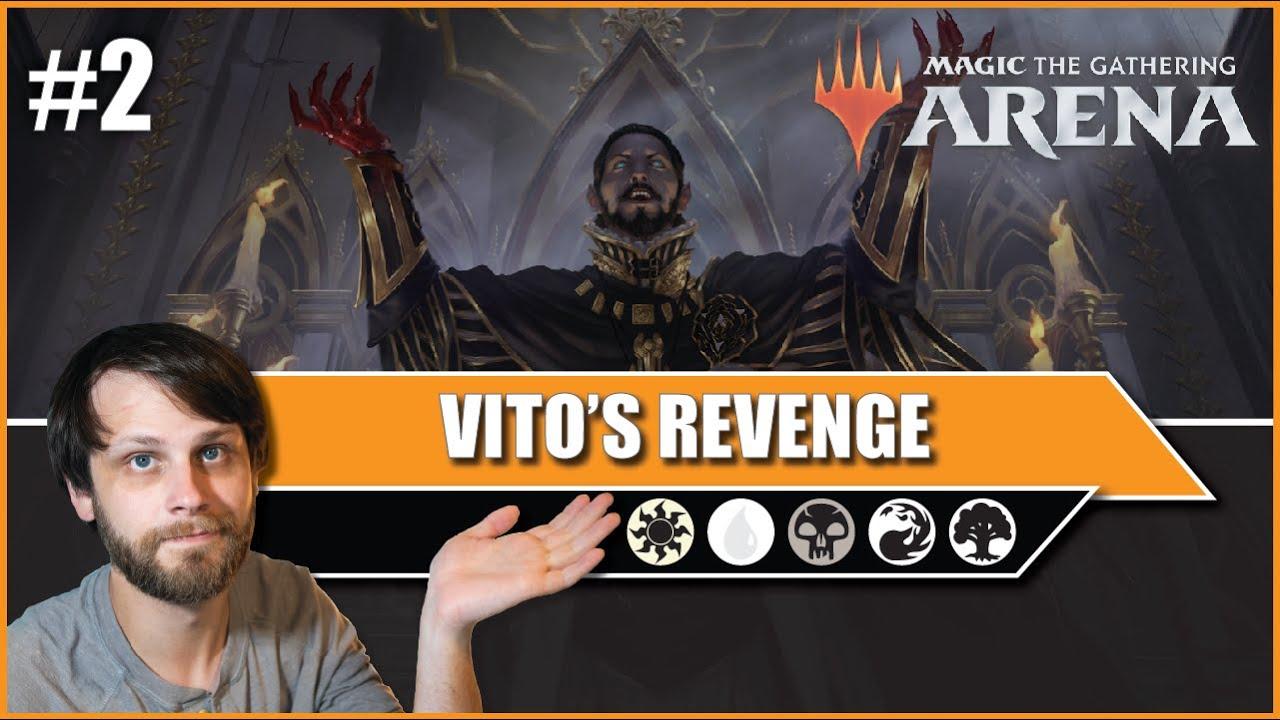 MTG Arena | Core 2021 Standard | Vito's Revenge #2
