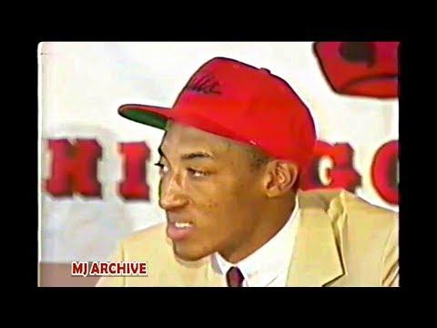 Scottie Pippen & Horace Grant's First NBA Baskets! Both Assist By Michael Jordan!