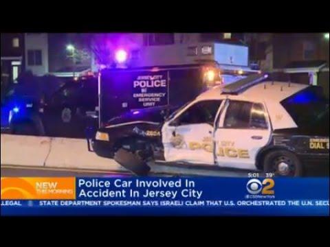 Jersey City Police Car Crash Update
