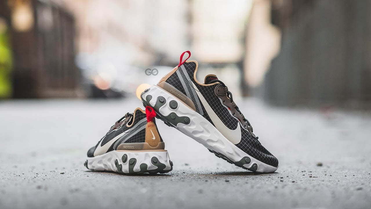casual shoes entire collection exclusive range Size? x Nike React Element 55