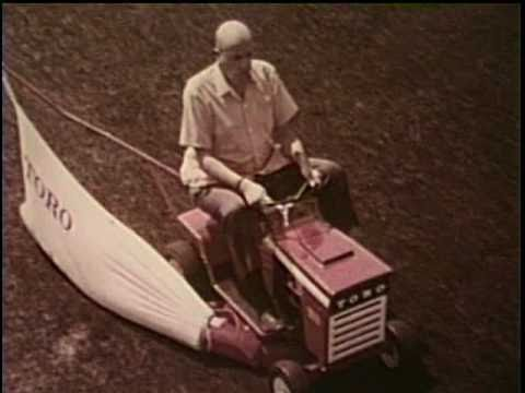 1969 Toro Riding mower commercial ~ Fred Clark