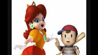 Repeat youtube video Princess Daisy & Ness Have a Sparta Mario Kart Base Remix!