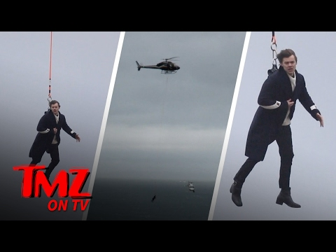 Harry Styles Can Fly!! | TMZ TV