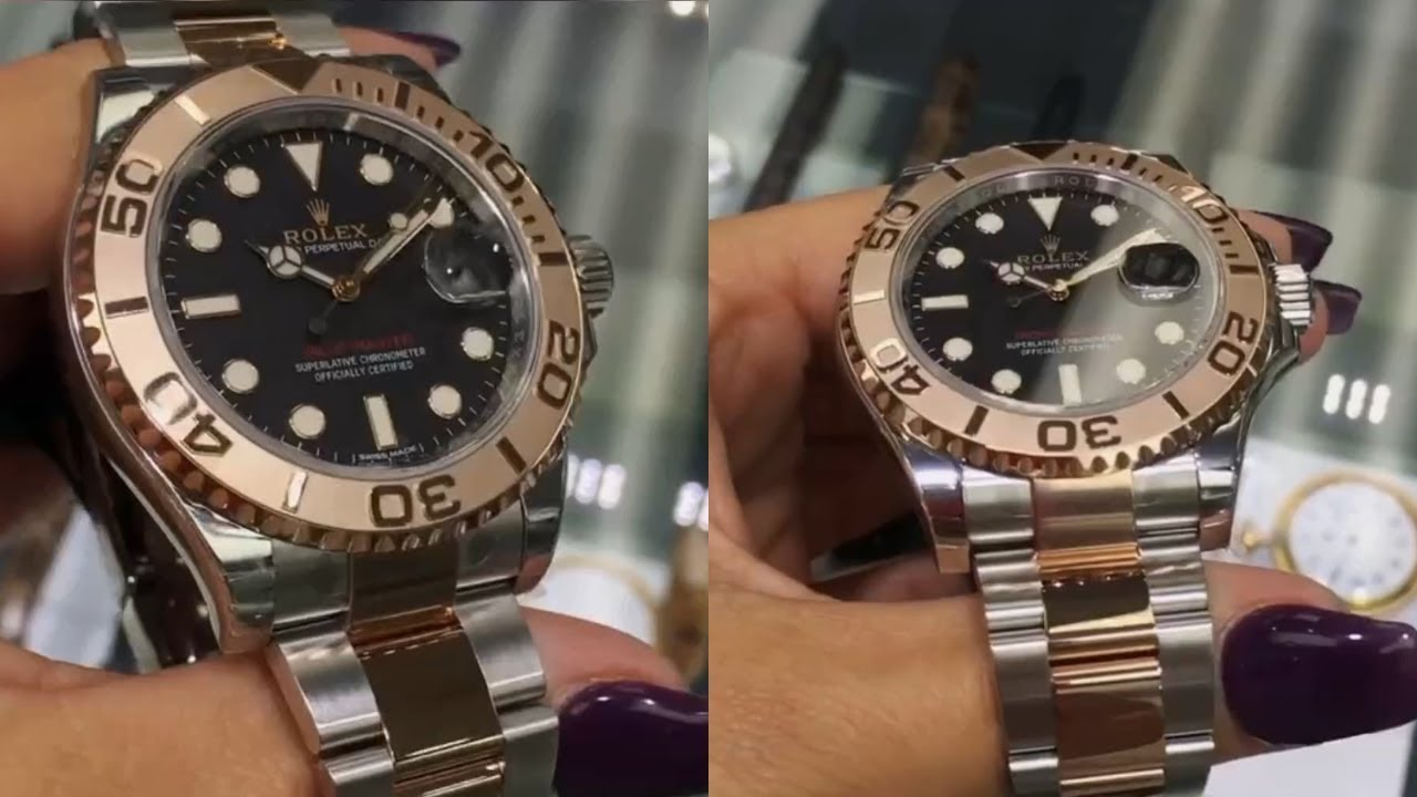 brand new rolex yachtmaster 116621 black dial 40 mm steel
