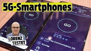 Huawei Mate 20 X vs. Xiaomi Mi Mix 3: Die ersten 5G-Handys der Schweiz im Test (Lorenz testet)