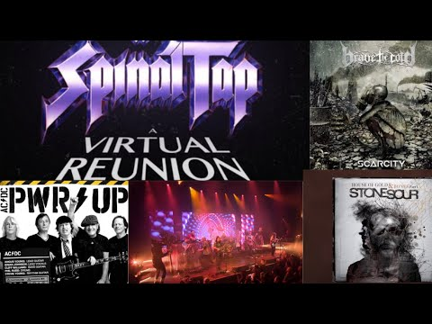 SPINAL TAP virtual reunion - AC/DC Shot in the Dark - Stone Sour demo - Run the Jewels