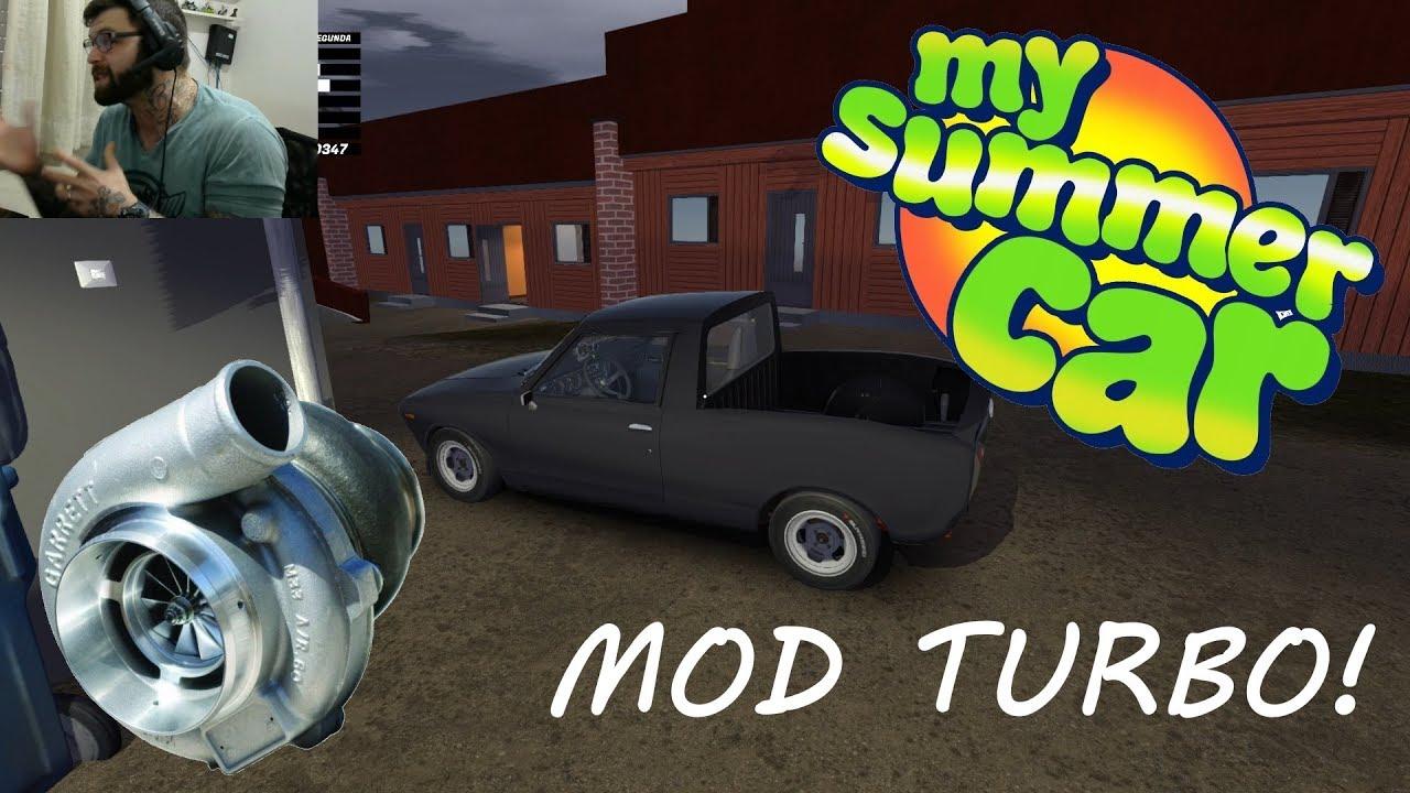 My Summer Car MOD TURBO + Tutorial de instalação assista o video todo pra  dar bom e boa diversão