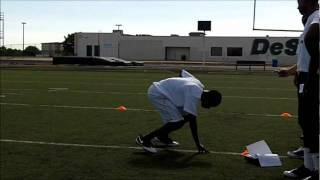 WR LAMONT JOHNSON HIGH SCHOOL FOOTBALL COMBINE CHALLENGE .COM.wmv