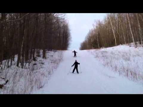 mellen wi copper falls ski club II