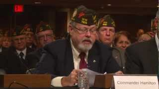 VFW Commander-in-Chief John Hamilton