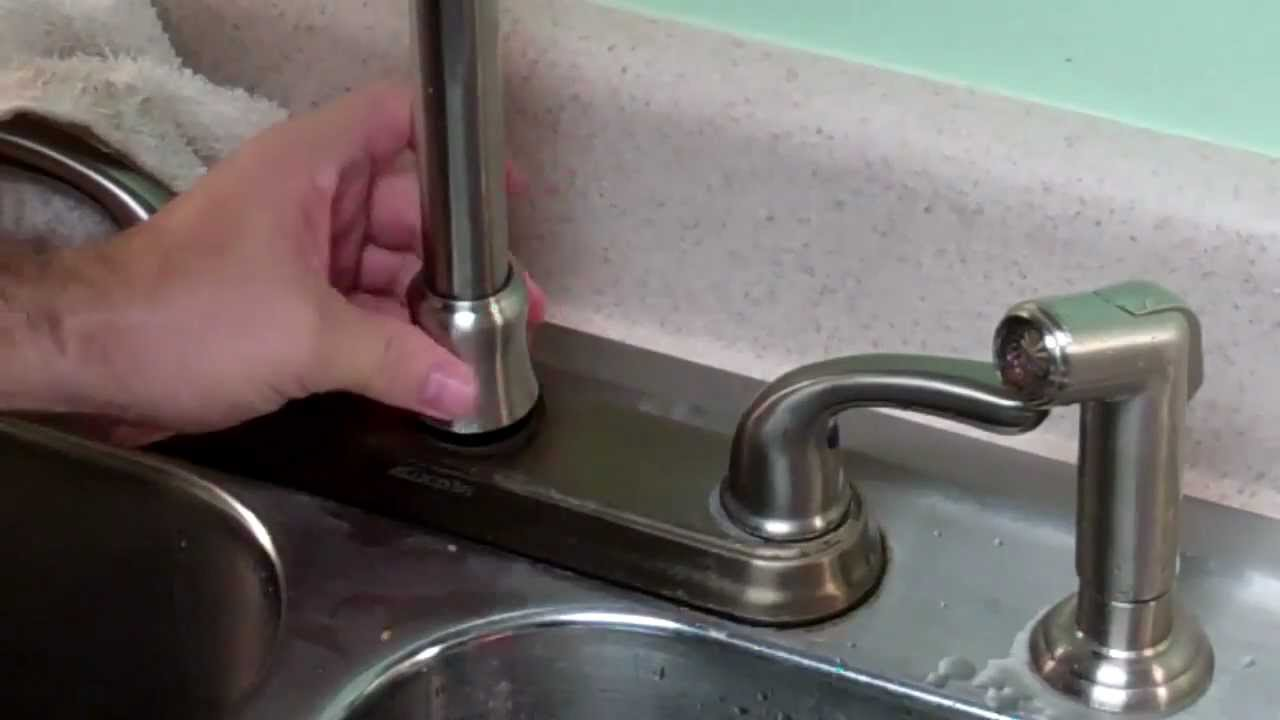 How to fix a GB leaky faucet trimmed  YouTube
