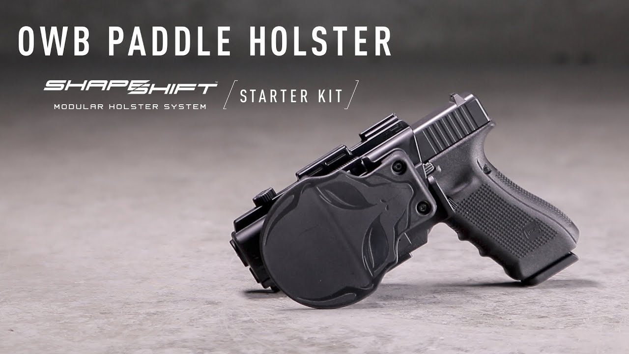 Paddle Holster for OWB Carry - Fully Customizable | Alien Gear Holsters