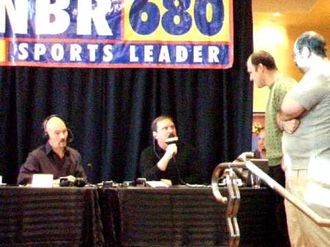 Gary Radnich and Tony Bruno live on KNBR - Nick vs. Luther